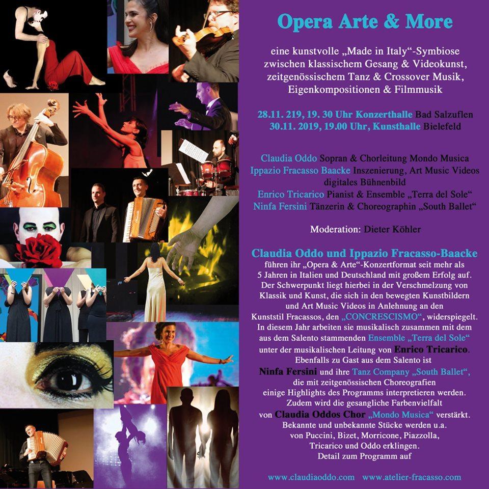 Programm Oper Arte & More